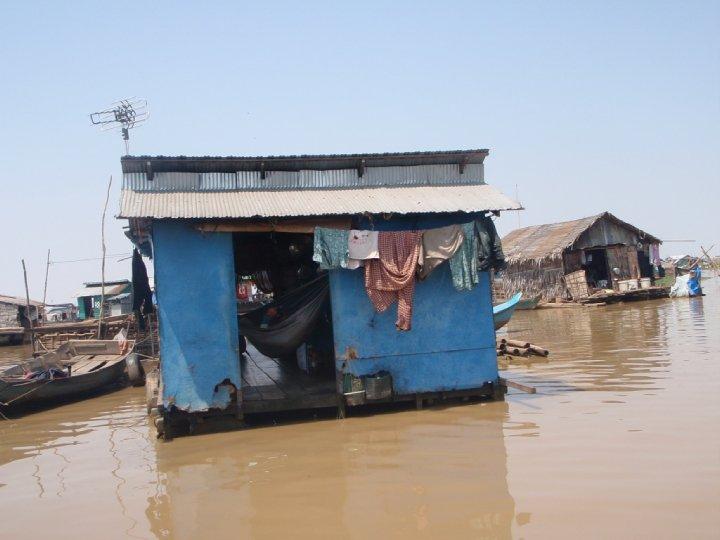 Floating Village of the Fisherman's Village, Tonle Sap Lake