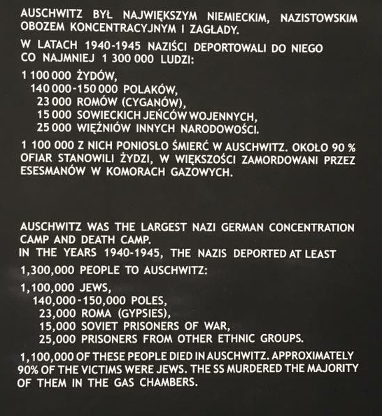 Auschwitz was the largest Nazi German Concentration Camp and Death Camp